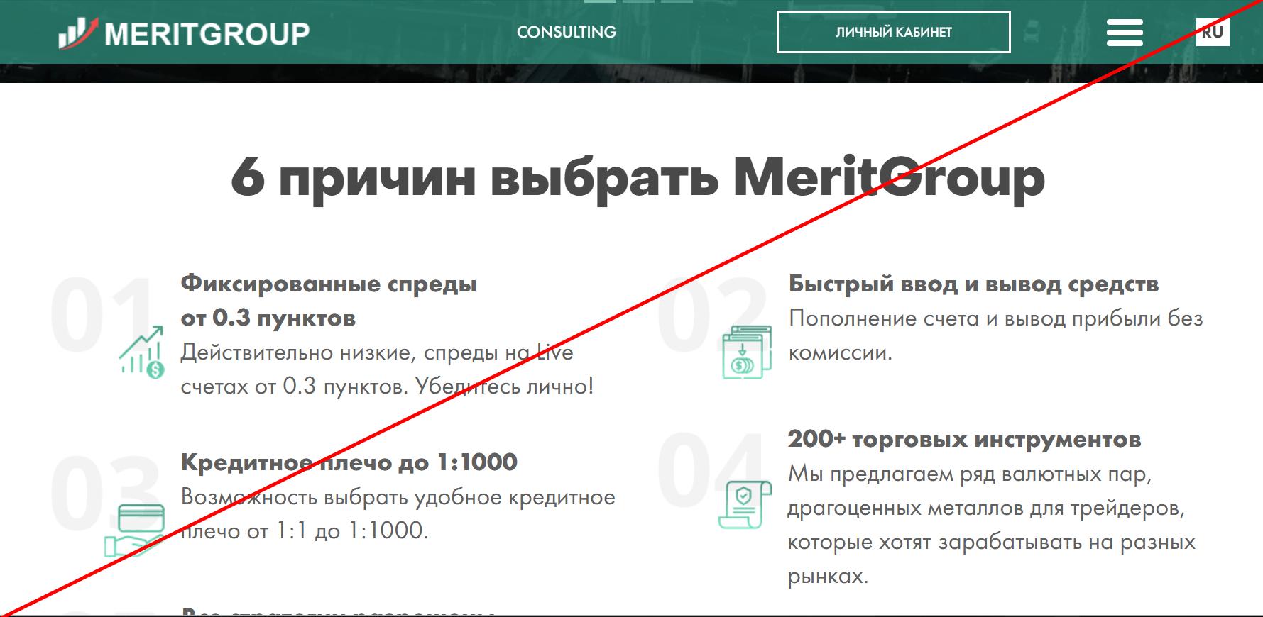Обзор MeritGroup