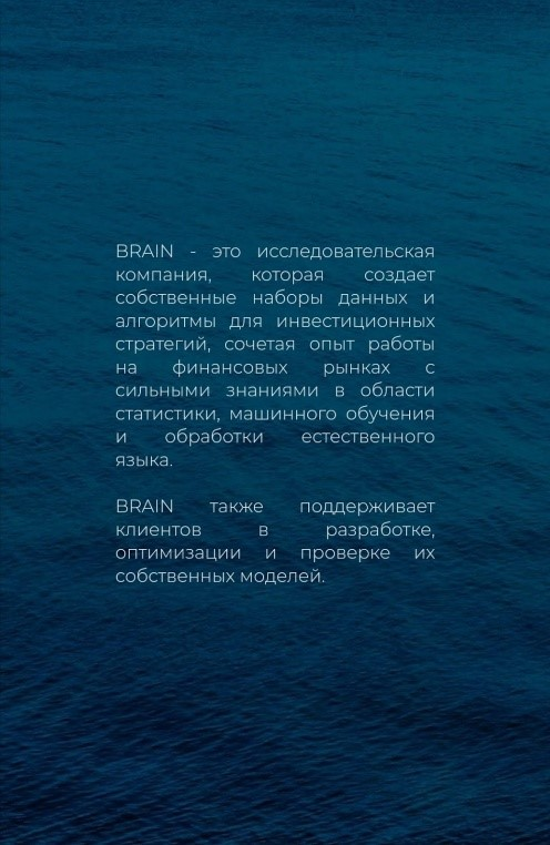 О компании Brain Company
