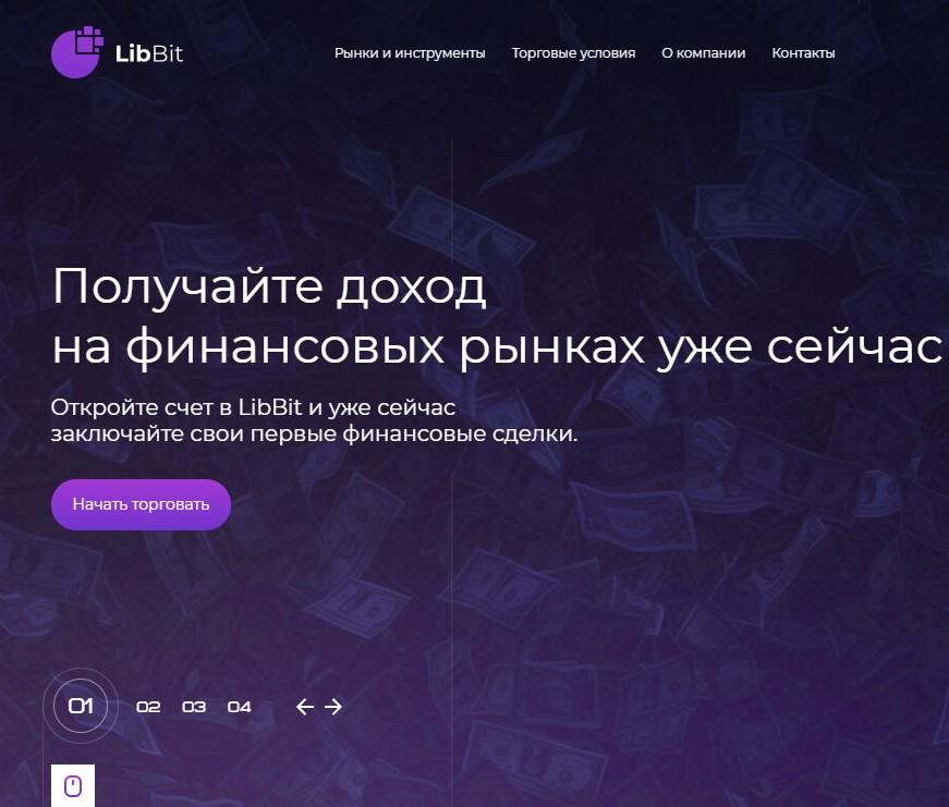 Сайт LibBit