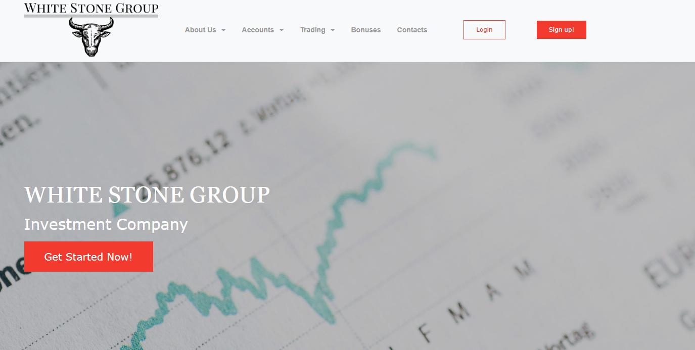 Официальный сайт псвдокомпании White Stone Group