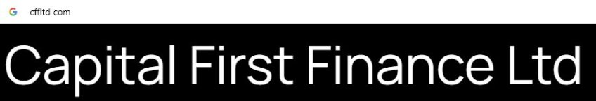 Capital First Finance LTD: обзор компании, услуги брокера, развод : https://stablereviews.com