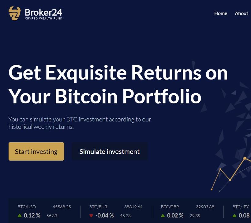 Сайт Broker24